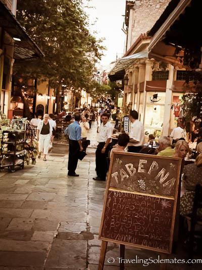 Plaka, Athens, Greece