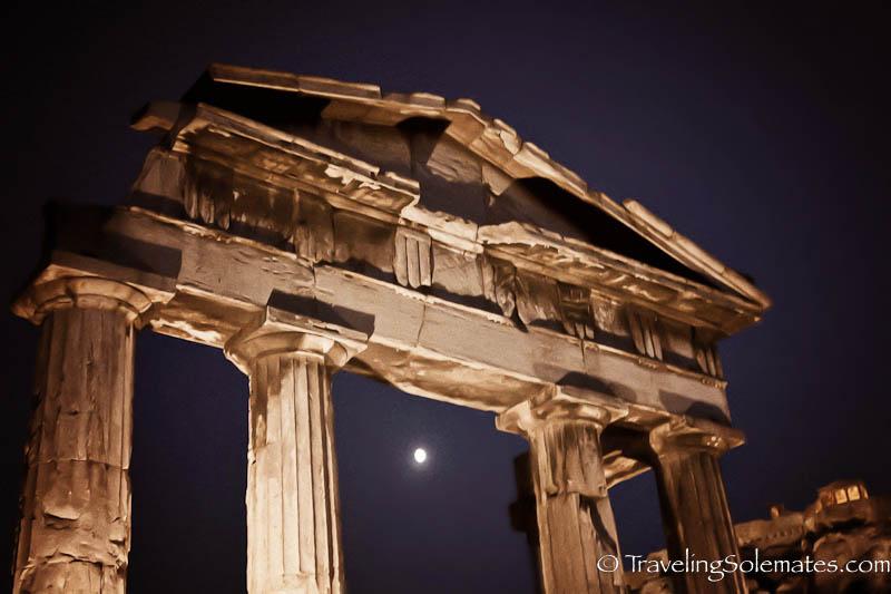 The Roman Agora, Athens, Greece