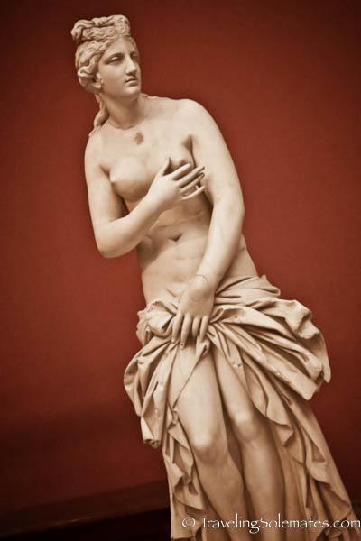 Statue of Aphrodite, National Archeological Museum, Athens, Greece