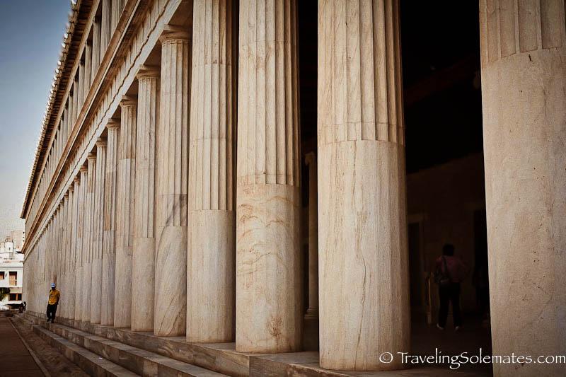 Stoa of Attalos (Agora Museum), Athens, Greece