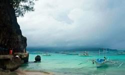 Boats in Boracay Island, Philippines