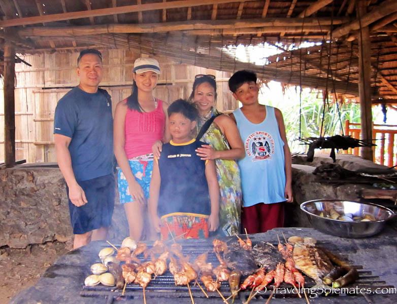 Fresh seafood BBQ, Boracay Island, Philippines