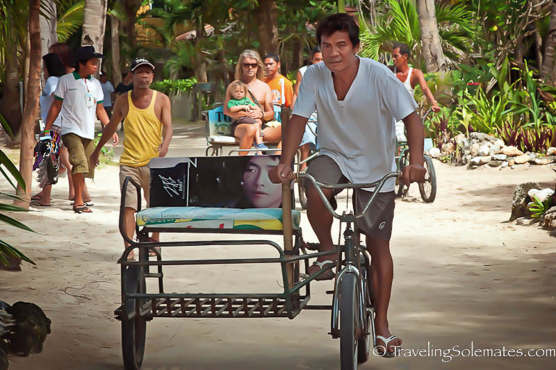Tricycle in Boracay, Philippines