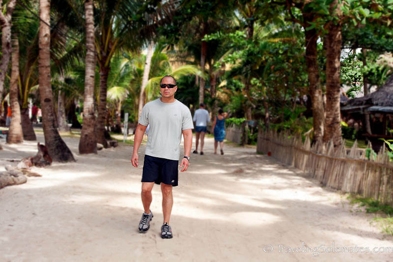 Strolling on the Ilsland of Boracay