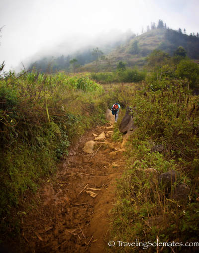 11_Trekking in the Hillribe Villages around Bac Ha, Vietnam