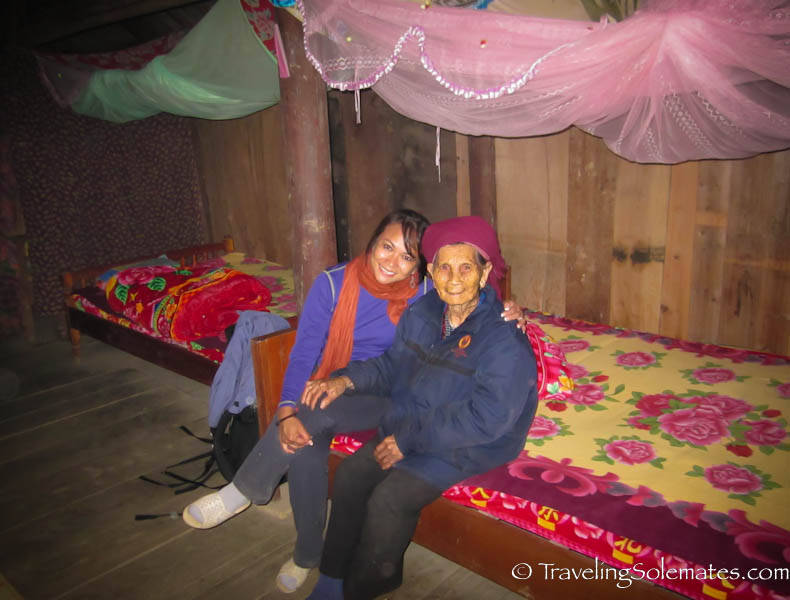 Homestay with Tay Family while Trekking in the Hillribe Villages around Bac Ha, Vietnam