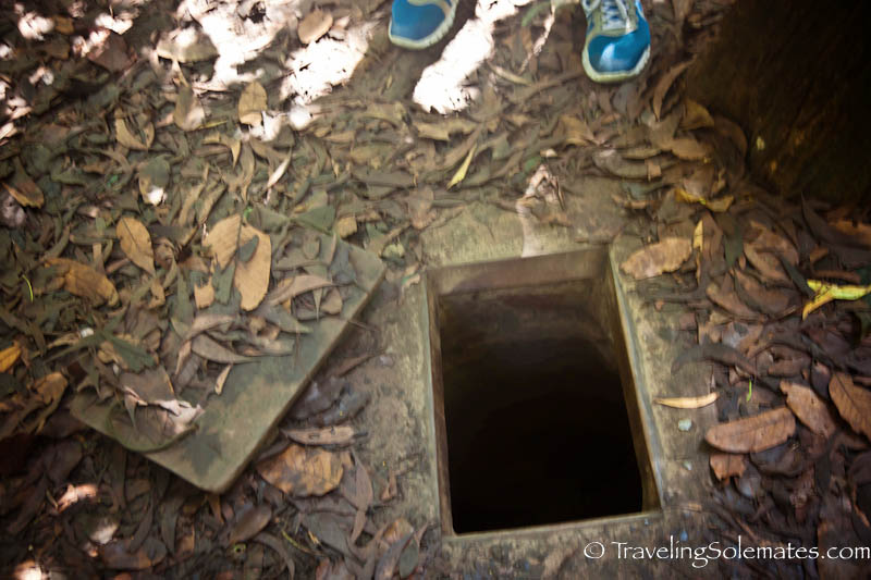 Trap Door, Cu Chi Tunnel, Vietnam