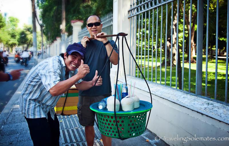 Coconut Vendor, Ho Chi Minh, (Saigon), Vietnam