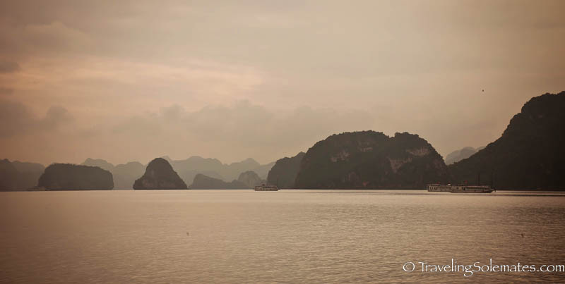 Limestone Karst of Halong Bay, Vietnam