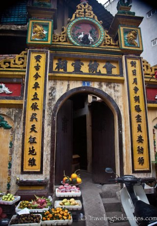 19_Old temple, Old Quarter, Hanoi, Vietnam