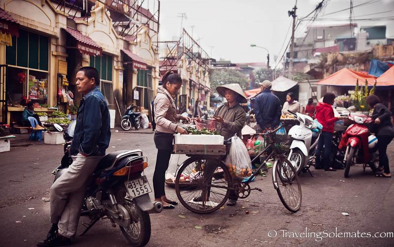 Market Street, Old Quarter, Hanoi, Vietnam