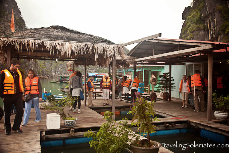 Vung Vieng Floating Fishing Village, Halong Bay, Vietnam