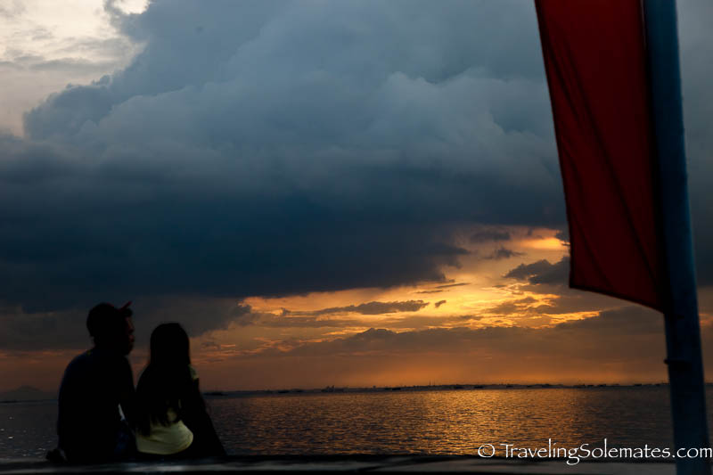 Sunset on Manila Bay, Philippines