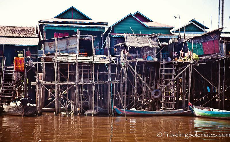 Stilted House, Kompong Pluk, Tonle Sap, Cambodia