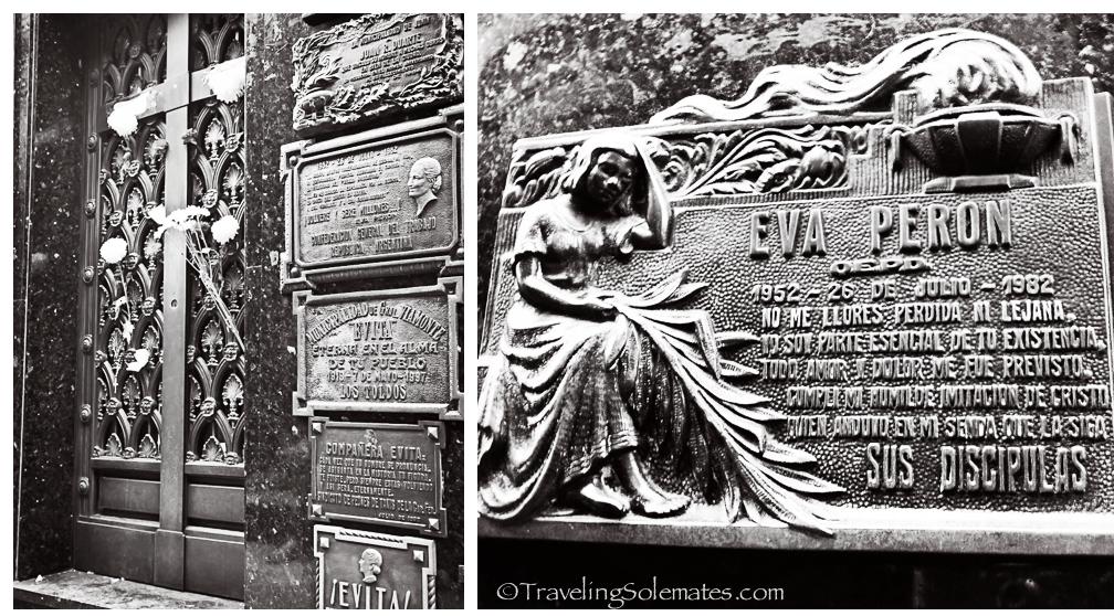Evita's Tomb, Recoleto Cemetery, Buenos Aires, Argentina
