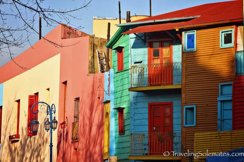 Colorful Houses, Caminito, La Boca, Buenos Aires, Argentina