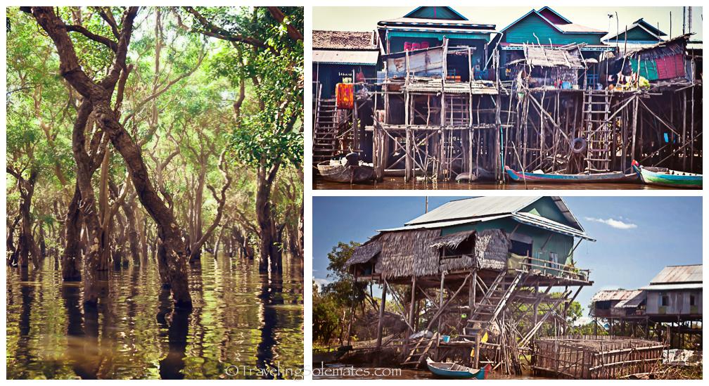 Village of Kompong Pluk, Cambodia