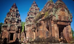 Bantay Srei Temple, Angkor, Cambodia