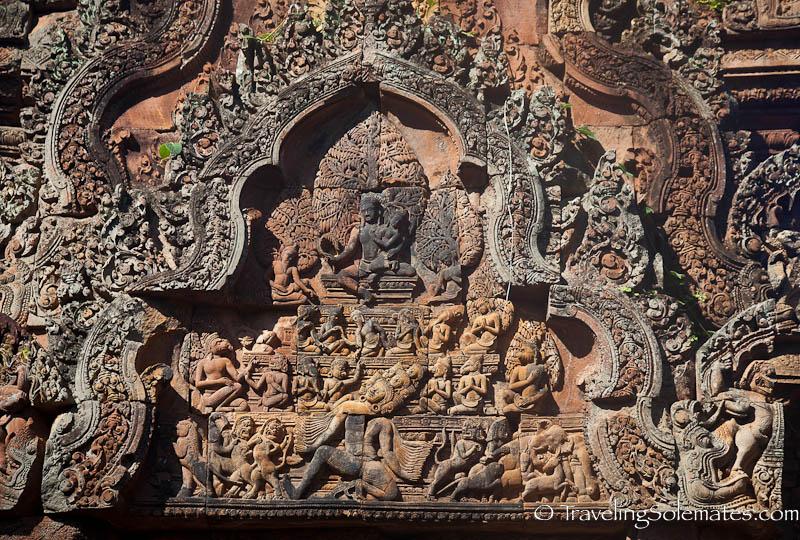 Bantay Srei Temple, Outer Angkor, Cambodia