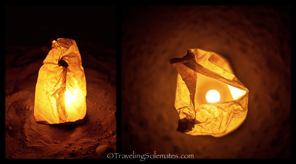 Candles, Petra at Night, Jordan