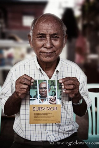 Chum Mey, Survivor of Tuol Sleng Prison, Phnom Penh, Cambodia