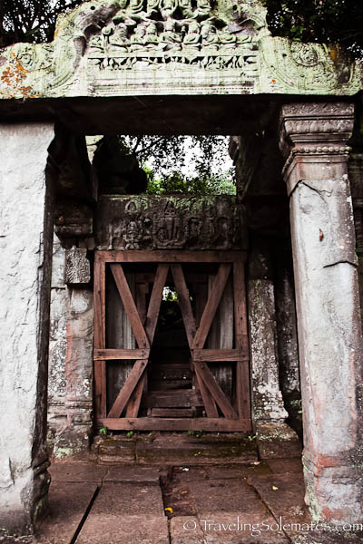 Entry to the Main Temple, Beng Mealea, Cambodia