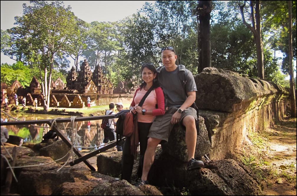 Banteay Srei Temple, Angokor, Cambodia