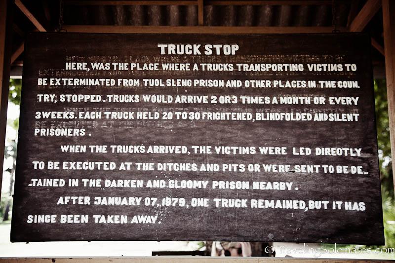 Truck Stop, Choeung Ek Killing Field, Cambodia