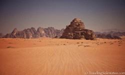 02_Desert and Rock Formations in Wadi Rum, Jordan