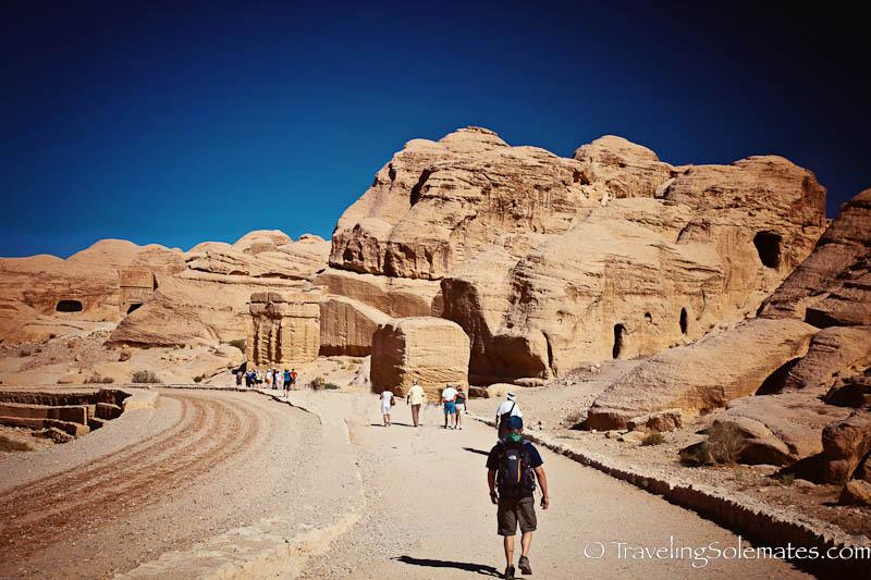 Entry into Petra, Jordan