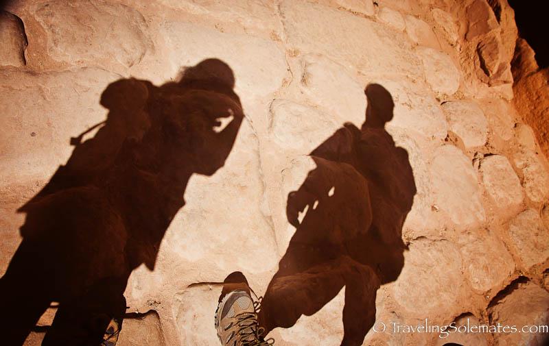 Cobblestone, The Siq, Petra, Jordan