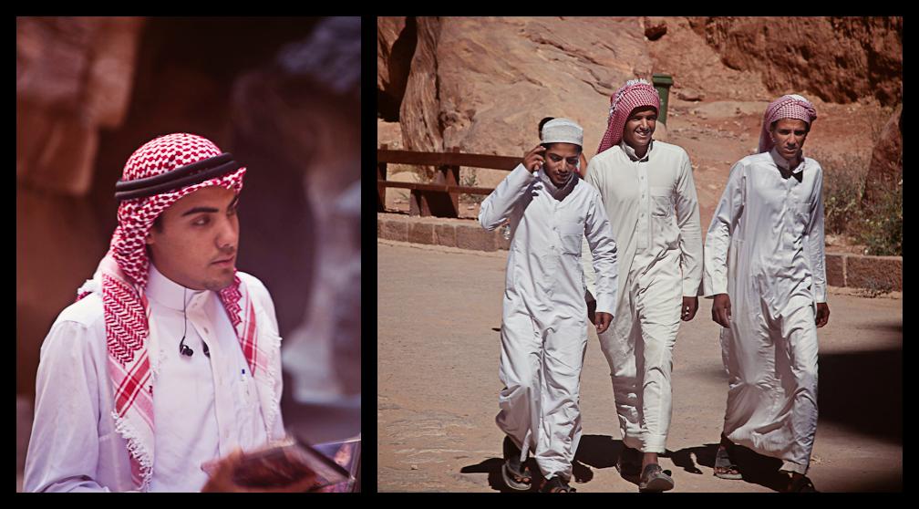 Young Bedouin Men, Petra, Jordan