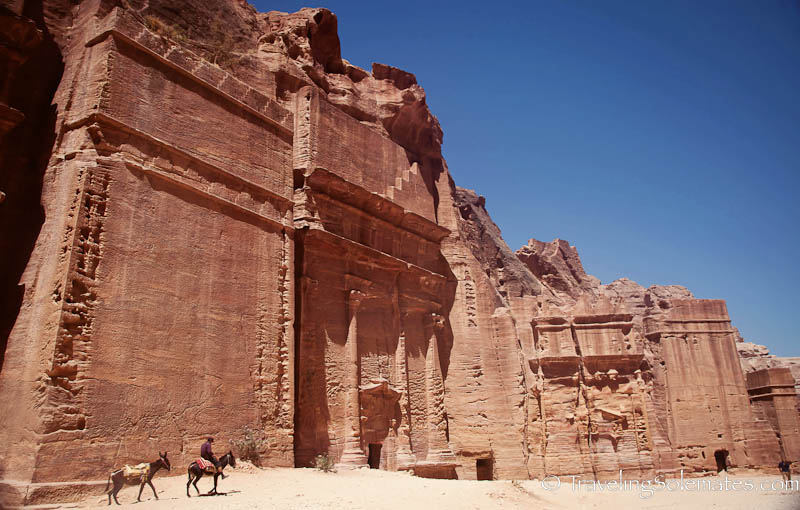 Avenue of the Facade, Petra, Jordan