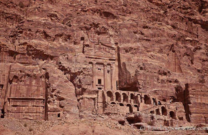 Royal Tomb, Petra Jordan