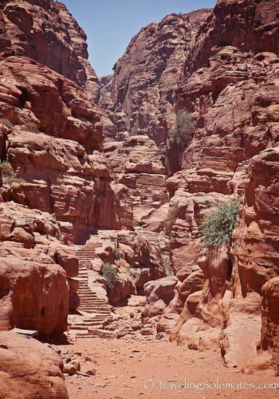 Stairways to the Monastery, Petra, Jordan