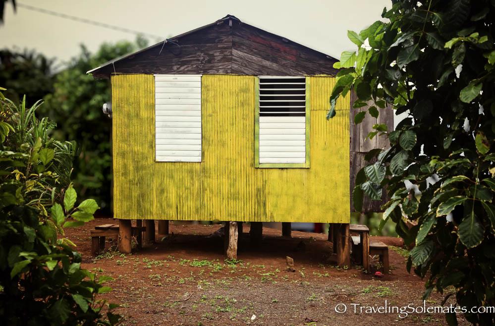 A House along Waitakabuli Trail, Segment 6, Kalinago Territory, Dominica