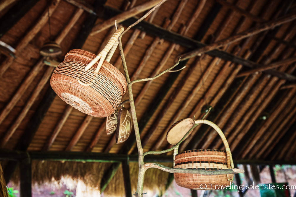 Baskets, Kalinago Barana Autê, Kalinago Territory, Dominica
