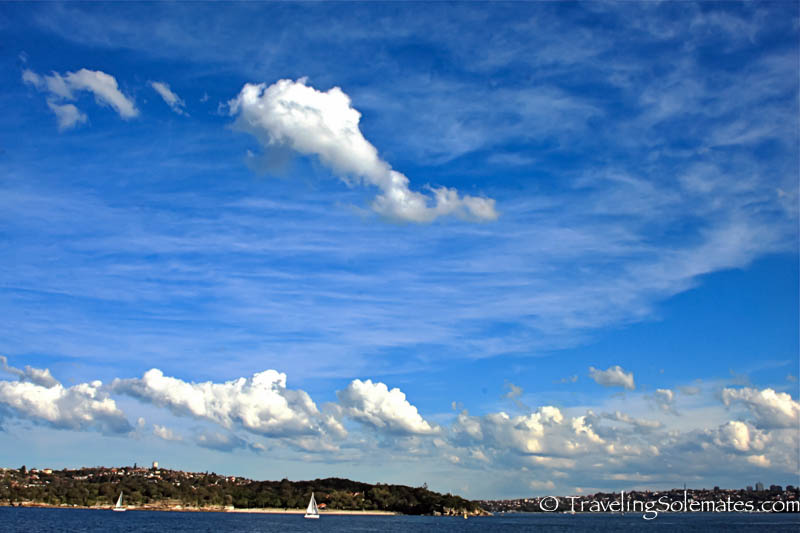 Blue Sydney Sky, Sydney, Australia.