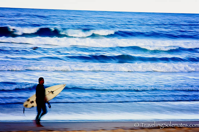 urfer in Manly Beach, Sydney, Australia