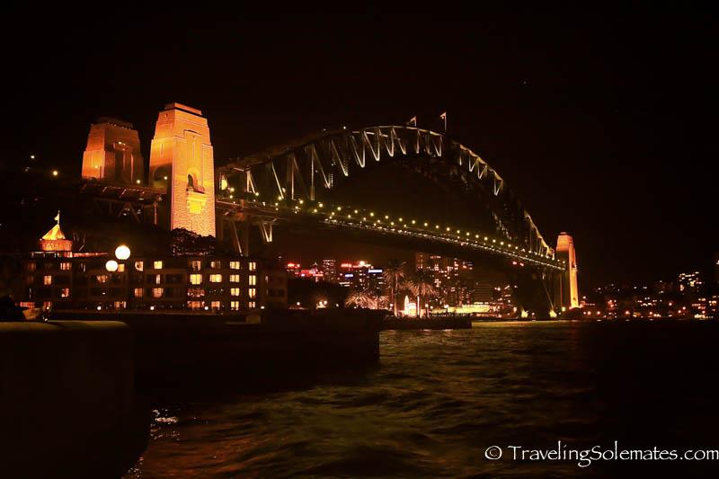 Sydney Bridge at night Sydney, Australia.