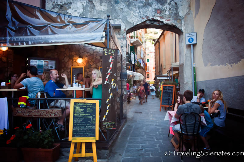 Monterosso Cafe, Hiking in Cinque Terre, Italy