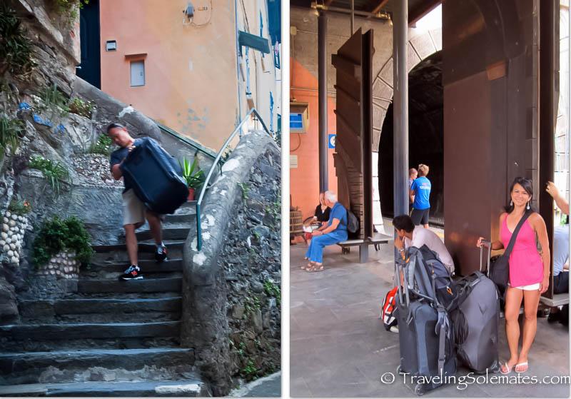 Leaving Vernazza, Cinque Terre, Italy