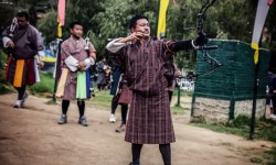 Archery Competition, Thimphu, Bhutan