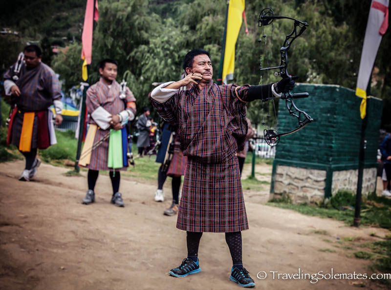 Archery Competition, Thimphu, Bhutan
