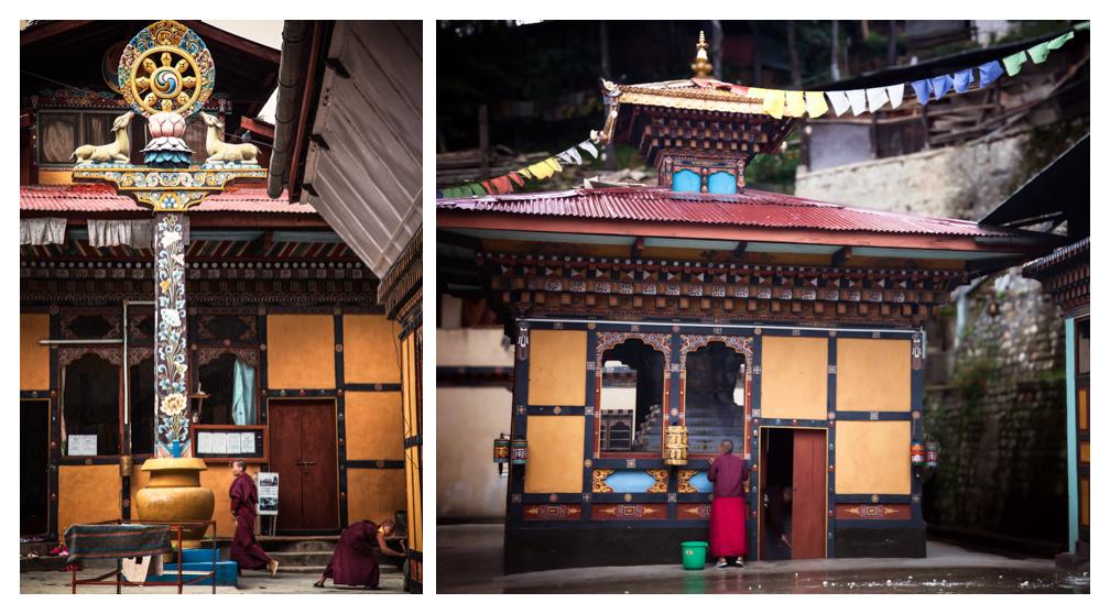 Zilukha Nunnery, Thimphu, Bhutan