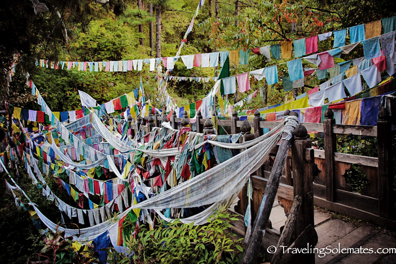 Prayer Flags in Bumthang, Bhutan
