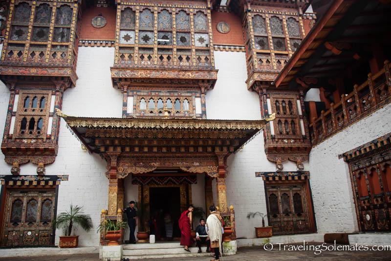 Courtyard 2, Punakha Dzong, Bhutan