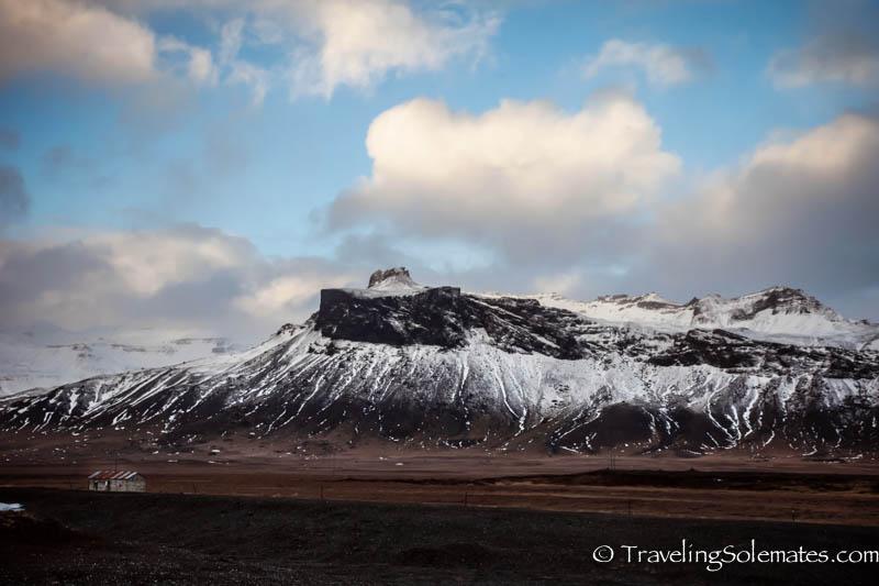 Snaefellsjokull Volcano, Snaefellsnes Peninsula, Iceland