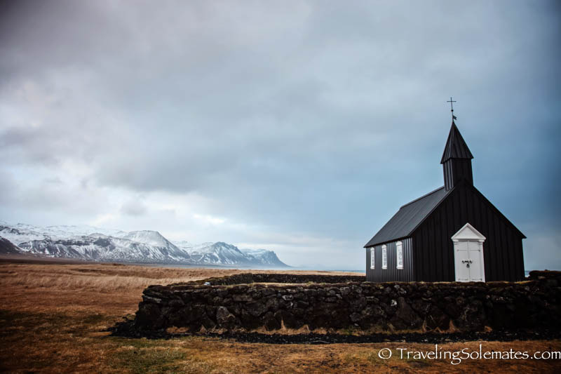 An Old  Church in Bodir, Snaefellsnes Peninsula, Iceland
