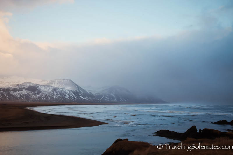 Budir-estuary, Snaefellsnes Peninsula, Iceland